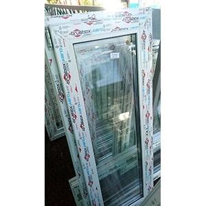 Новое (в упаковке) окно ПВХ профиль Brusbox 70мм